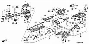 Honda Accord V6 Exhaust System Diagram  U2022 Downloaddescargar Com