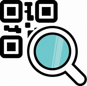 Barcode, code, magnifying glass, qr, qr code icon