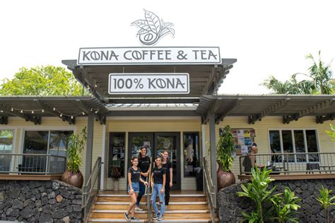 Rotating single origin espresso, various specialty teas, house made syrups, and local retail coffee. Café — Kona Coffee and Tea Company