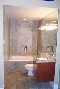 small bathrooms on Pinterest Small Bathroom Renovations