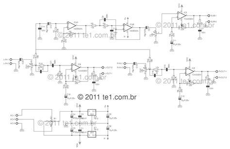 Using Tda Power Audio Amplifier Circuit Diagram