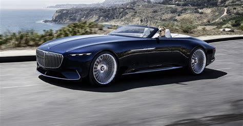 Mercedes-maybach Vision 6 Cabriolet Revealed