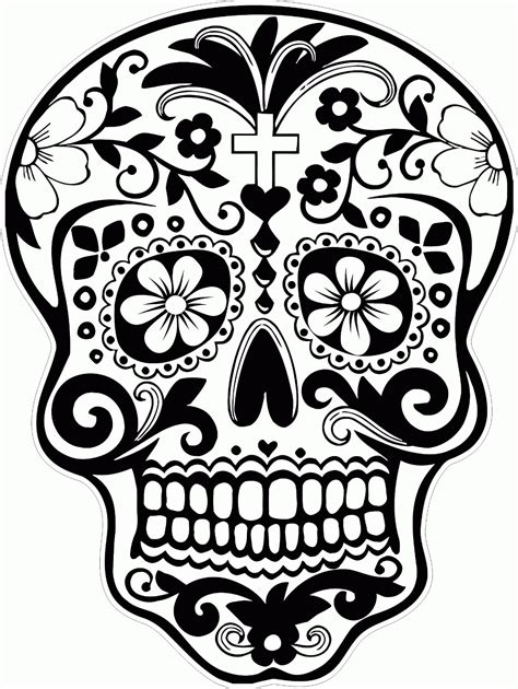 Skull Candy Coloring Pages Many Interesting Cliparts