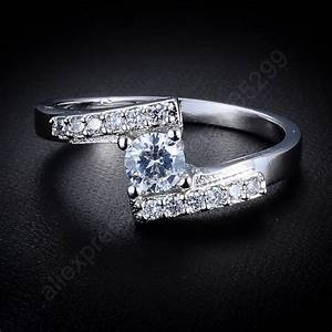 2015 luxury pure 925 sterling silver jewelry cubic With pure silver wedding rings