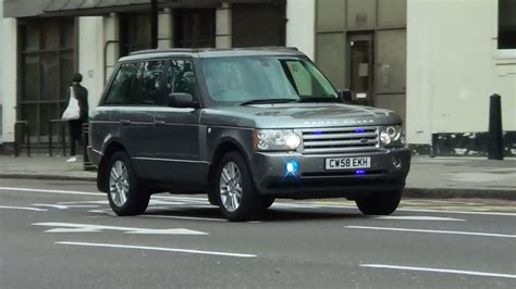 London Unmarked Range Rover Responding [uk