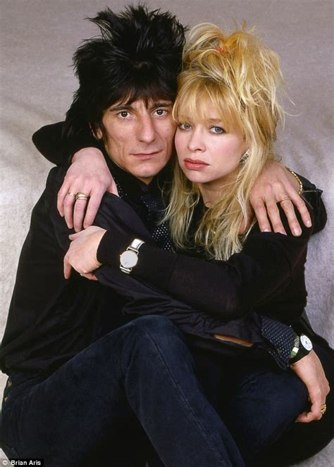 Rock N Roll Images How Ronnie Destroyed Our Marriage After 35 Years Jo Wood Tells Her Definitive And Explosive