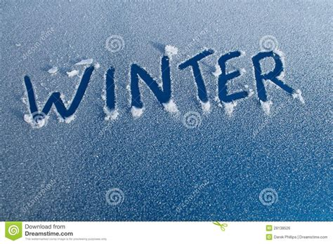 winter word  car frost royalty  stock image image