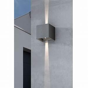 Außenwand Deko Metall : starlux led au enwandleuchte umea 8 w schwarz ip54 ~ Sanjose-hotels-ca.com Haus und Dekorationen