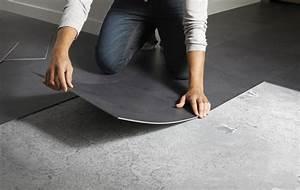 Dalle Pvc Cuisine : changer votre sol n 39 a jamais t aussi simple leroy ~ Premium-room.com Idées de Décoration