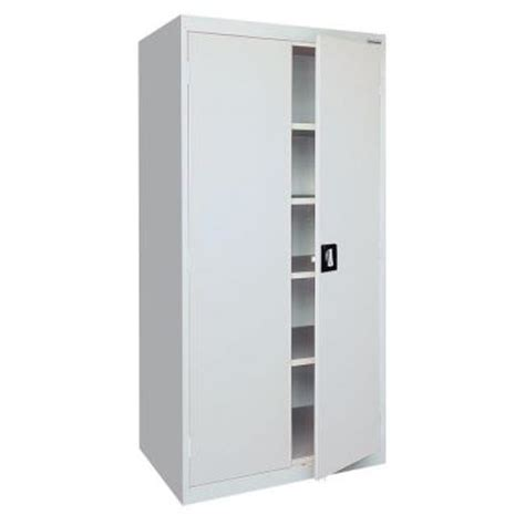 home depot metal cabinets sandusky elite series 78 in h x 36 in w x 18 in d 5