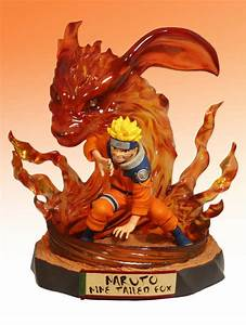 Buy Models Naruto Naruto Nine Tailed Fox Statue