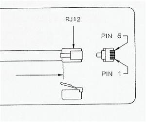 rj12 diagram of 5 pins 22 wiring diagram images wiring With rj12 wiring standard