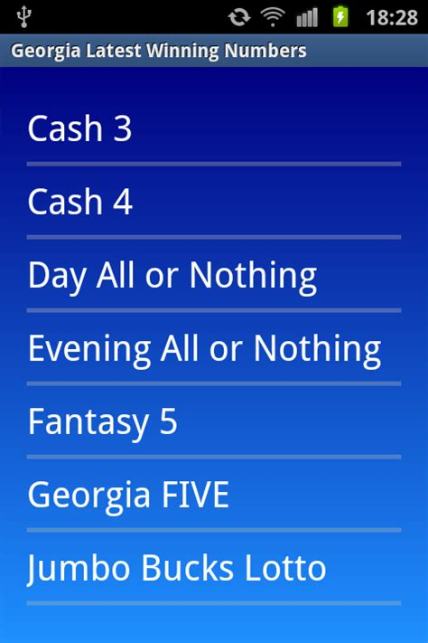 ga lottery app for android winning numbers android apps on play