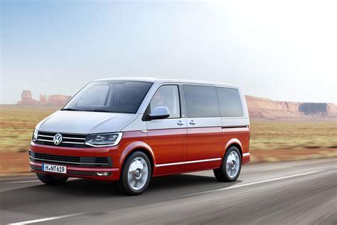 volkswagen new new volkswagen t6 transporter van revealed pictures