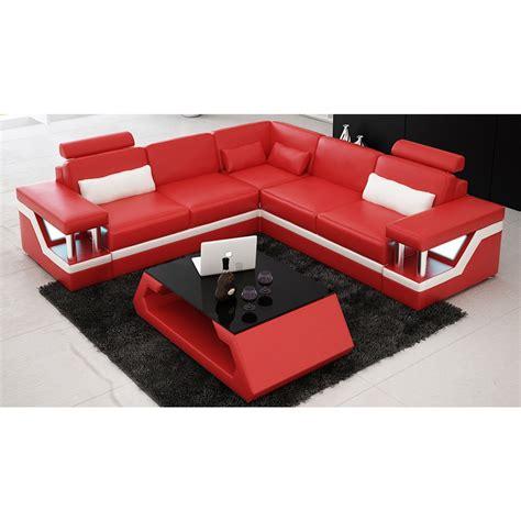 canapé d angle lit canapé d 39 angle design en cuir véritable tosca l lit
