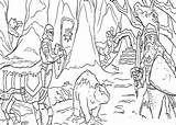 Narnia Coloring Pages Chronicles Trailers Coloring2print sketch template