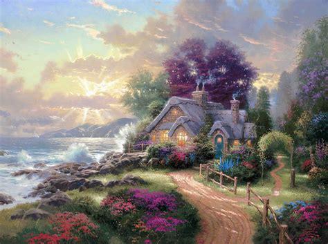kinkade cottage cottages