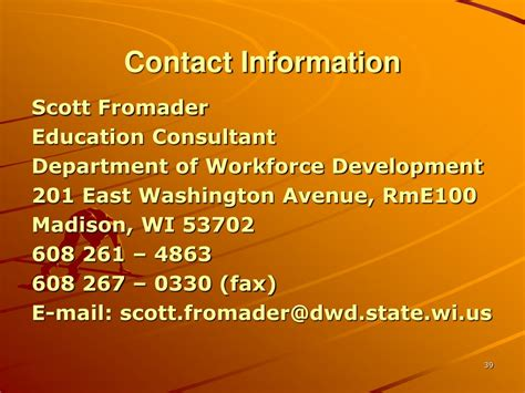 workforce investment act youth program powerpoint