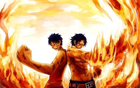 Fire Fist Ace And Luffy  Anime  Pinterest  Anime, Anime