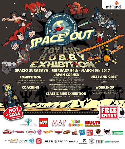 space  toy hobby exhibition jadwal event info