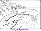 Coloring Pages Landscape Adults Printable Landscapes Colouring Scenery Stream Detailed Printables Nature Getcolorings Getdrawings Left Hand Right Colorings Flower sketch template