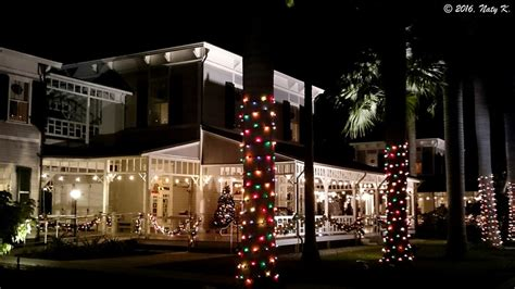 holiday lights at the edison winter estate features