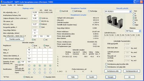 transformer calculation software greatrelief