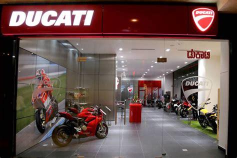 ducati opens  dealership  bangalore gaadikey