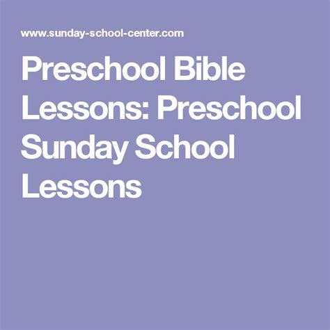 62 best images about sunday school lesson plan on 858 | e30f0b902ef15138cfdd6545658c61f8 preschool sunday school lessons preschool bible lessons