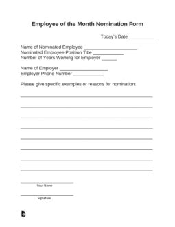 employee   month nomination form  word