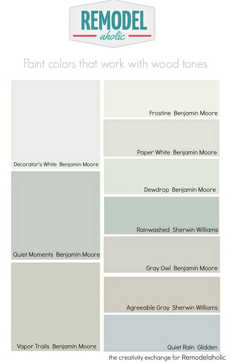 remodelaholic choosing paint colors that work with trim and floors