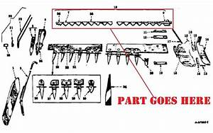 Sickle Bar Mower Parts Diagram