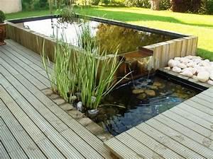 Hivernage Bassin Exterieur : bassin int gr dans une terrasse bois cr ation les ~ Premium-room.com Idées de Décoration