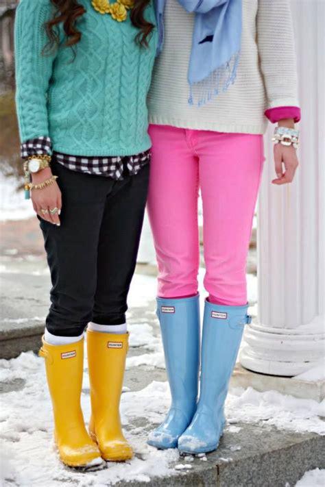 Hunter Rain Boots - Shoes and beauty