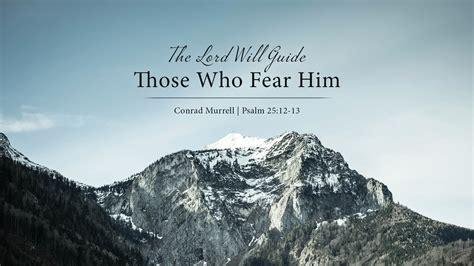 lord  guide   fear  conrad murrell