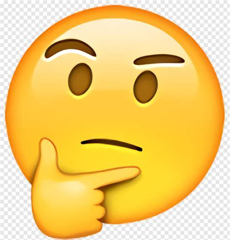 Crying Laughing Emoji - Thinking Emoji Ios 10, Png ...