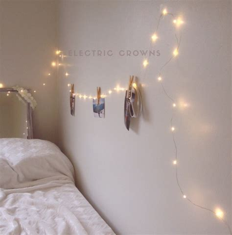 Fairy Lights Bedroom Hanging Indoor String Pictures For Of
