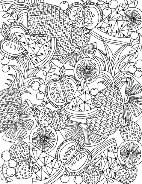 printable summer coloring pages  adults