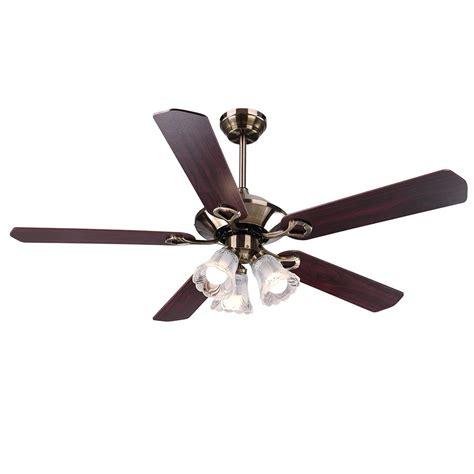 traditional bronze finish ceiling fan light kit