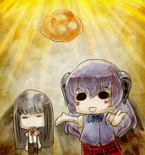 furude rika and hanyuu higurashi no naku koro ni
