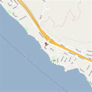 Map of Pismo Beach Hotels
