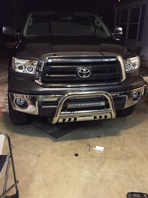 bull bar with 22 quot opt 7 led light bar