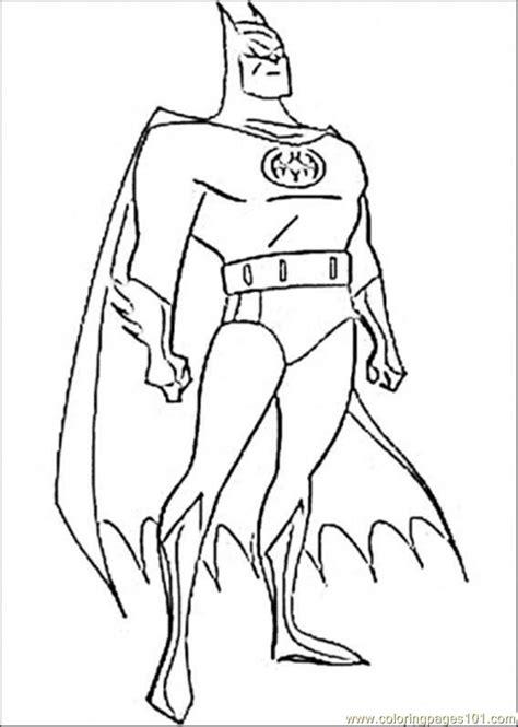 Picture Of Batman Coloring Page Free Batman Coloring