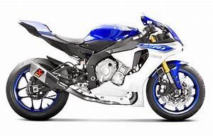 Yamaha R1 2016 : akrapovic optional link pipe collector titanium 2015 2016 2017 yamaha r1 r1m l y10so11t ~ Medecine-chirurgie-esthetiques.com Avis de Voitures