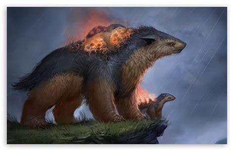 fantasy animals drawing  hd desktop wallpaper