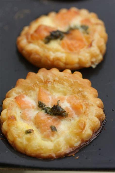 mini tartelettes feuillet 233 es au saumon frais chez requia cuisine et confidences