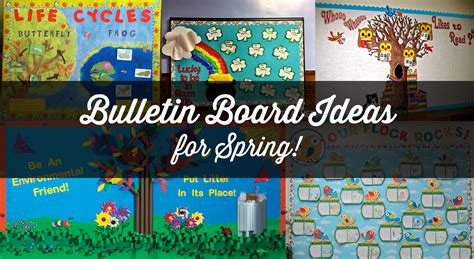 9 Fun Spring Bulletin Boards For Your Classroom