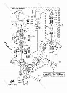 Yamaha Outboard Parts By Hp 250hp Oem Parts Diagram For