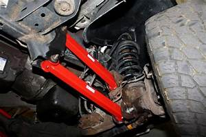 Front Track Bar  U0026 Front Control Arms Package