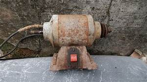 Old Grinding Machine Restoration Step By Step So Easy